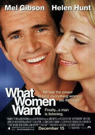 What Women Want - Theatrical release poster