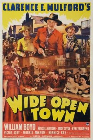 Wide Open Town - Theatrical release poster
