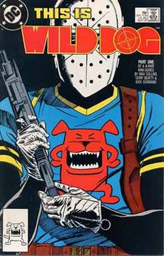 Wild Dog (comics) first issue cover.jpg