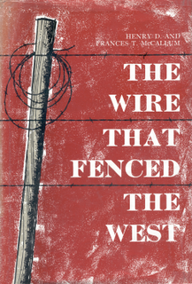 <i>The Wire that Fenced the West</i>