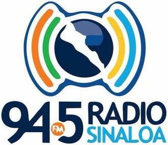 XHGES-FM - Image: XHGES Radio Sinaloa 94.5 logo