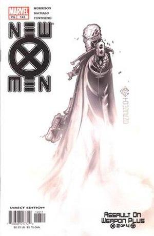 Fantomex - Image: Xmen 143