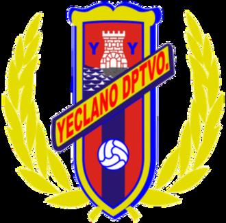 Yeclano Deportivo - Image: Yeclano Deportivo