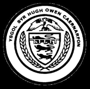 Ysgol Syr Hugh Owen - Image: Ysgol Syr Hugh Owen Logo