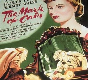The Mark of Cain (1947 film) - Film poster