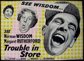 <i>Trouble in Store</i> 1953 film by John Paddy Carstairs