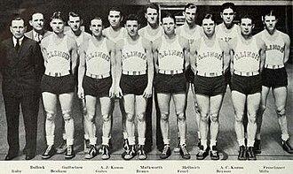 1933–34 Illinois Fighting Illini men's basketball team - Image: 1933–34 Illinois Fighting Illini men's basketball team