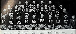 1938 Illinois Fighting Illini football team - Image: 1938 Illinois Fighting Illini football team