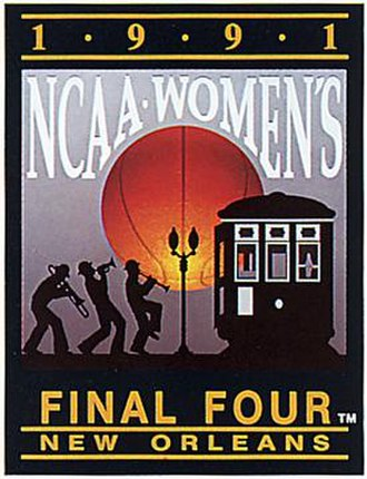 1991 NCAA Division I Women's Basketball Tournament - Image: 1991Womens Final Four Logo