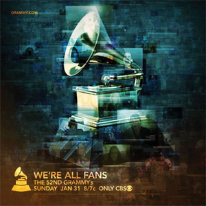 52nd Annual Grammy Awards - Image: 52nd Grammy Awards poster