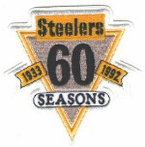 1992 Pittsburgh Steelers season - Steelers 60th Anniversary Logo
