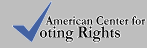 American Center for Voting Rights - Image: ACVR Logo