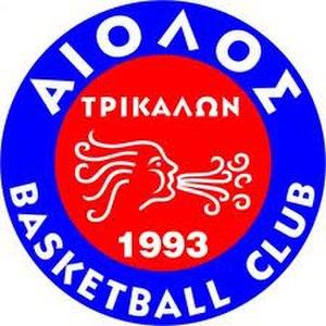 Trikala Aries B.C. - Image: Aeolus Trikala B.C. Logo