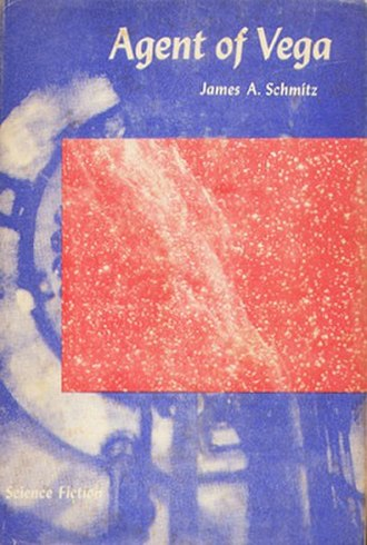 Agent of Vega - First Edition cover