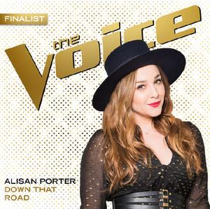 Down That Road (Alisan Porter song) - Image: Alisan Porter Down That Road Single Cover