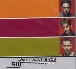 All I Want Is You (911 song) - Image: All I Want Is You 911
