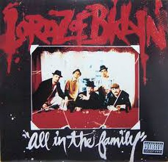 All in the Family (Lordz of Brooklyn album) - Image: All in the Family (Lordz of Brooklyn)