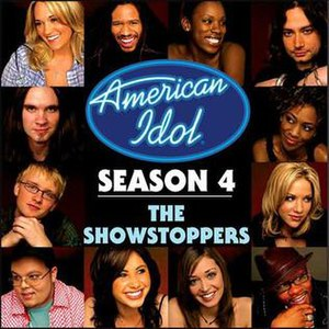 American Idol Season 4: The Showstoppers - Image: Am Idol 4 Showstoppers