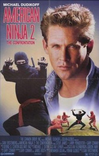 American Ninja 2: The Confrontation - Promotional poster