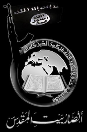 Ansar Bait al-Maqdis - Image: Ansar Bayt al Maqdis (شعارات جماعة أنصار بيت المقدس 3)