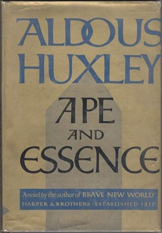 Ape and Essence - First US edition