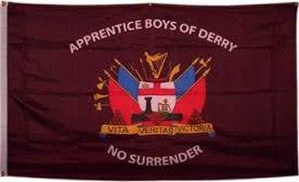 Apprentice Boys of Derry - A flag of the Apprentice Boys