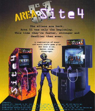 Area 51: Site 4 - A promotional photo for the game