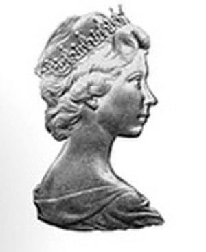 Arnold Machin - Image: Arnold Machin Elizabeth II coinage portrait