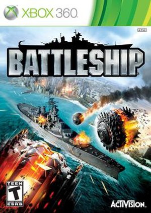 Battleship (2012 video game) - Image: Battleship box art