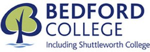 Bedford College, Bedford - Logo of the college