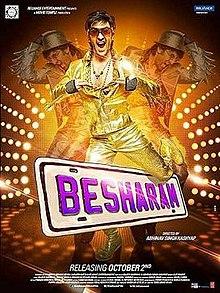Besharam (2013) SL DM - Ranbir Kapoor, Pallavi Sharda, Rishi Kapoor, Neetu Singh, Javed Jaffrey, Amitosh Nagpal, Mohan Kapoor