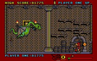 Black Lamp (video game) - Black Lamp gameplay (Atari ST)