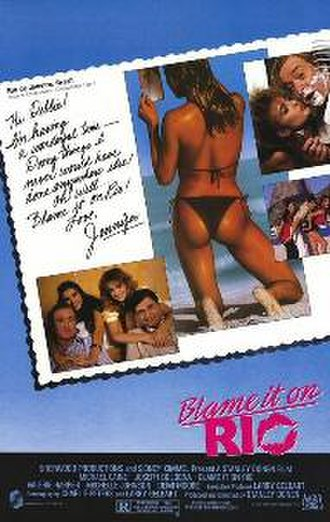 Blame It on Rio - Theatrical release poster