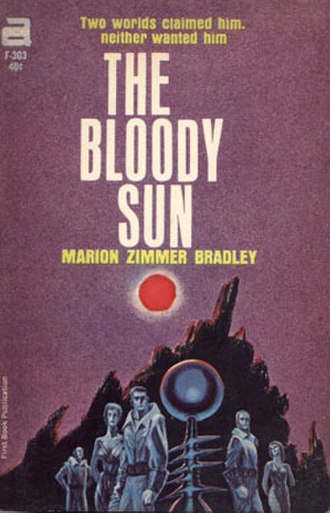 The Bloody Sun - Cover of the first edition
