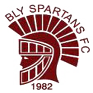 Rochester United F.C. - The club's badge as Bly Spartans