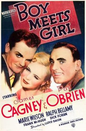 Boy Meets Girl (1938 film) - theatrical release poster