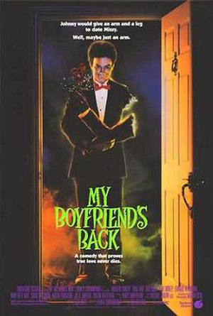 My Boyfriend's Back (1993 film) - Theatrical release poster