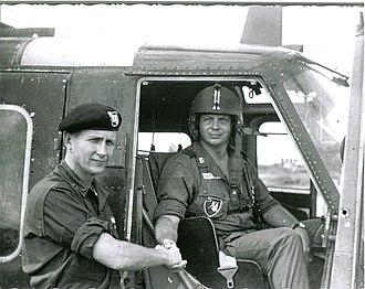 John Bahnsen - Pete Bahnsen (L) and Doc Bahnsen, Vietnam, 1965.