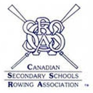 Canadian Secondary School Rowing Association - The logo of the CSSRA.