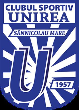 CS Unirea Sânnicolau Mare - Image: CS Unirea Sânnicolau Mare logo