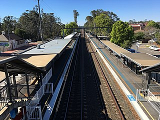 Canley Vale railway station railway station in Sydney, New South Wales, Australia