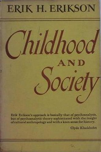 Childhood and Society - Cover of the first edition