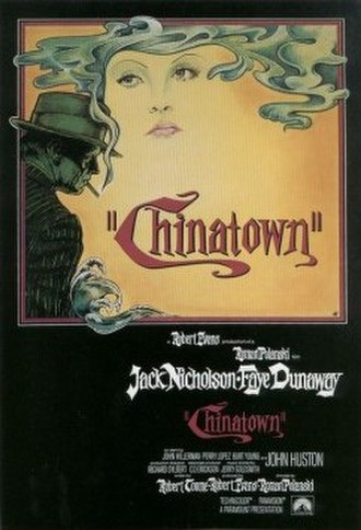 Chinatown (1974 film) - Theatrical release poster