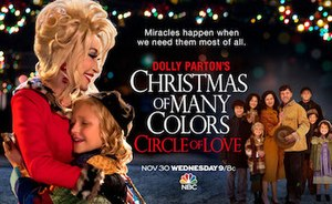 Dolly Parton's Christmas of Many Colors: Circle of Love - Promotional poster