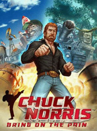 Chuck Norris: Bring On the Pain - Image: Chuck Norris Bring on the pain cover