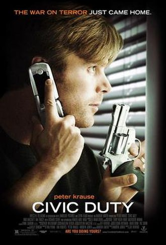 Civic Duty (film) - Theatrical release poster