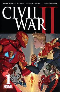 <i>Civil War II</i> 2016 Marvel Comics crossover event