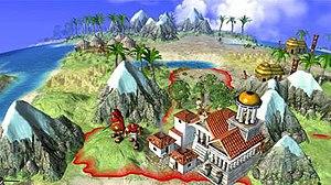 Civilization Revolution - The Xbox 360 version