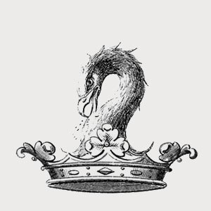 Cobbe family - The Cobbe heraldic pelican, motto In Sanguine Vita, part of the family coat of arms.