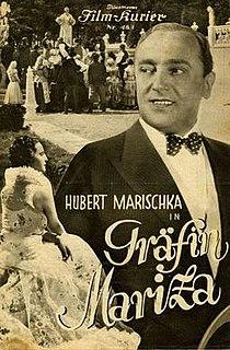 <i>Countess Mariza</i> (1932 film) 1932 film